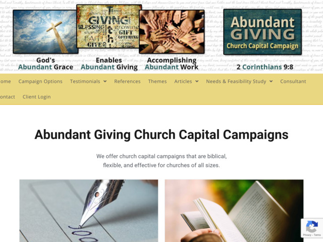 abundantgiving.com preview image