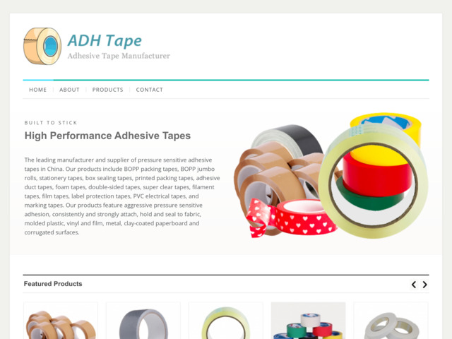 adhtape.com preview image