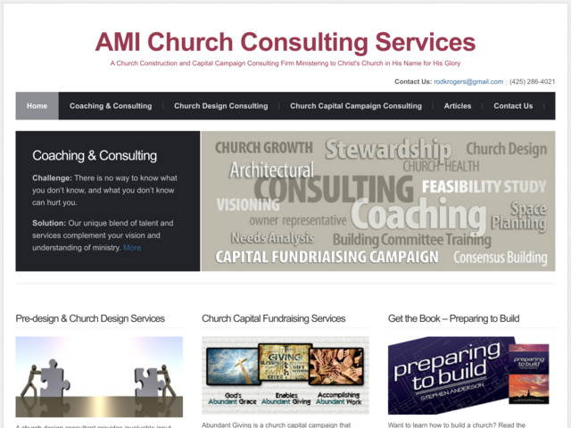 amichurchconsulting.com preview image