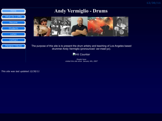 andythedrummer.com preview image