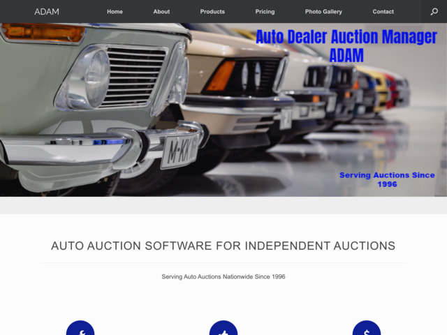autoauctionsoftware.com preview image