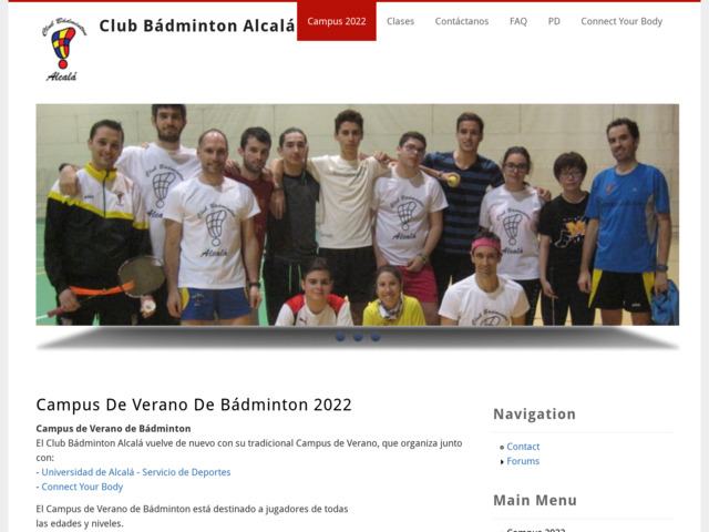 badmintonalcala.com preview image
