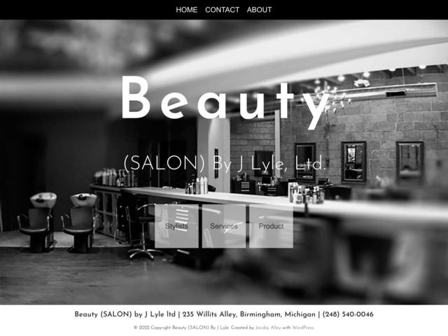 beautysalonbyjlyle.com preview image