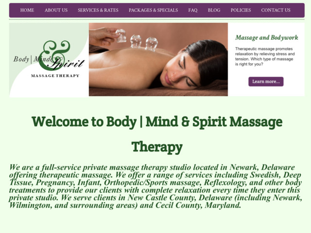 bmsmassage.com preview image
