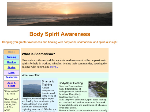bodyspiritawareness.com preview image