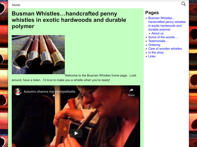 busmanwhistles.com preview image