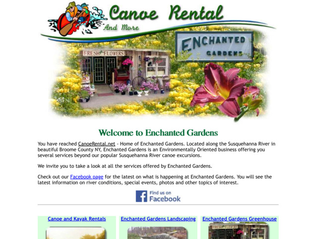 canoerental.net preview image