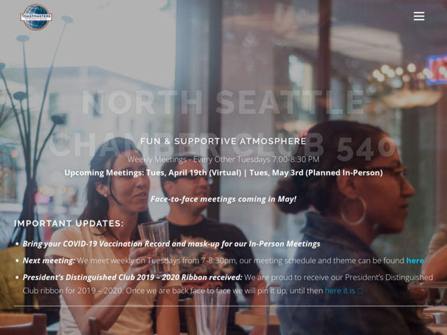 chamberclub540.com preview image