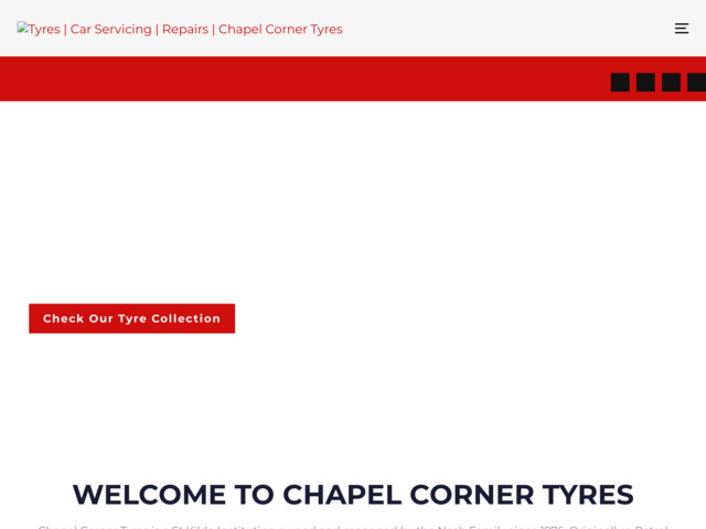 chapelcornertyres.com preview image