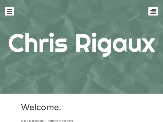 chrisrigaux.ca preview image