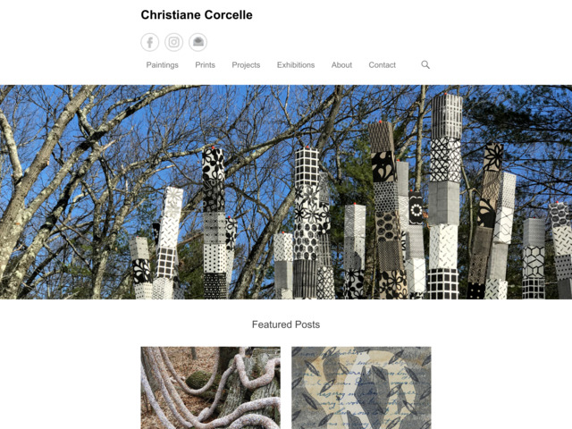 christiane-corcelle-arts.com preview image