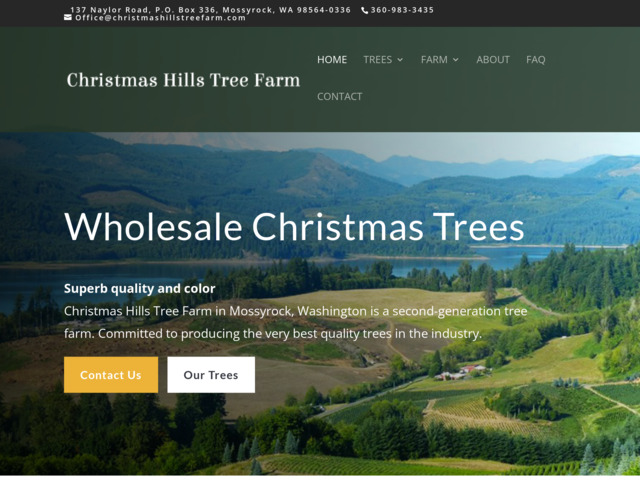 christmashillstreefarm.com preview image