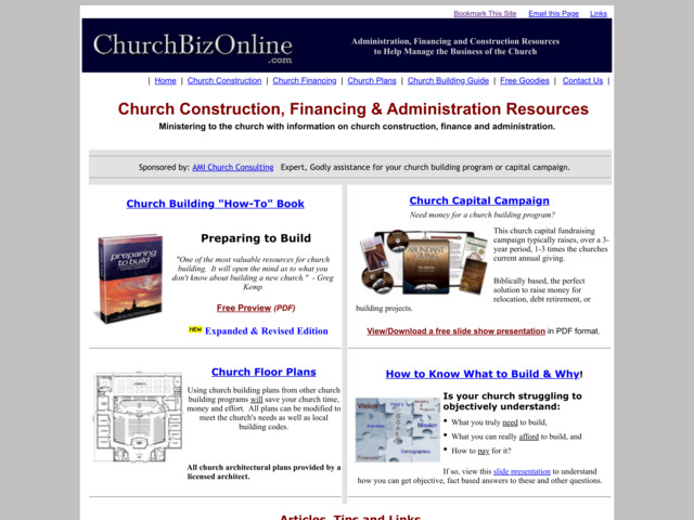 churchbizonline.com preview image