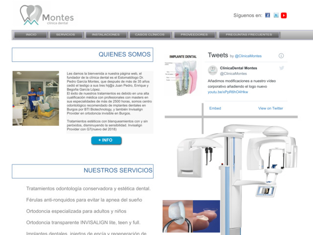 clinicamontes.com preview image