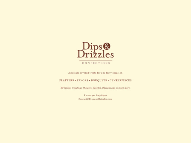 dipsanddrizzles.com preview image