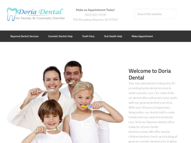 doriadental.com preview image