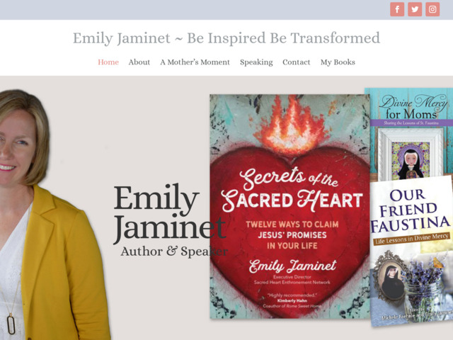 emilyjaminet.com preview image
