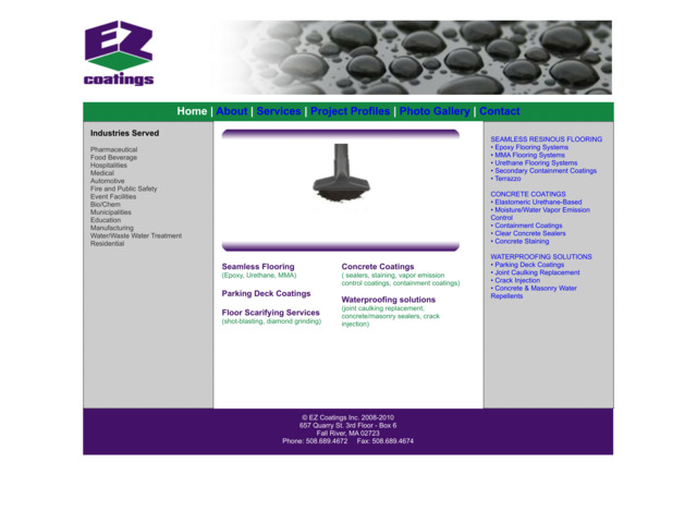ezcoatings.com preview image