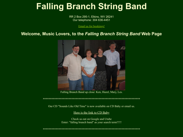 fallingbranchband.com preview image