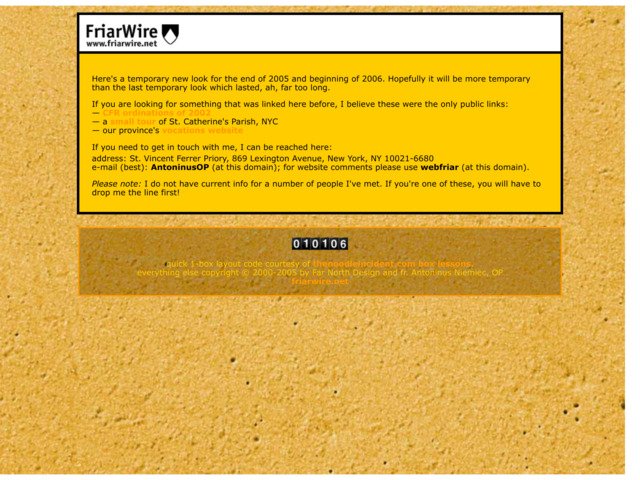 friarwire.net preview image