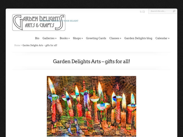 gardendelightsarts.com preview image