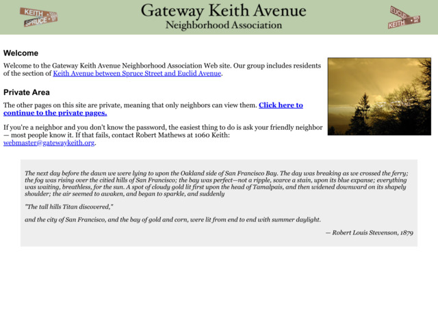 gatewaykeith.org preview image