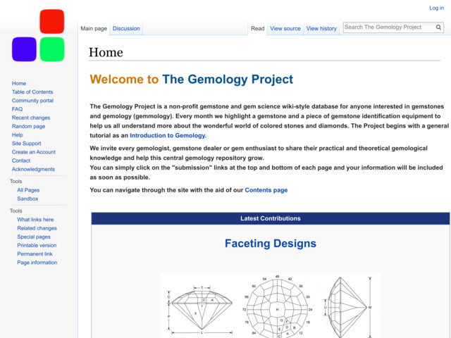 gemologyproject.com preview image