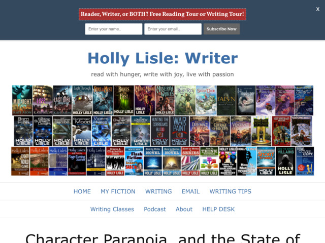 hollylisle.com preview image