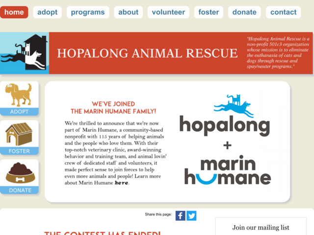 hopalong.org preview image