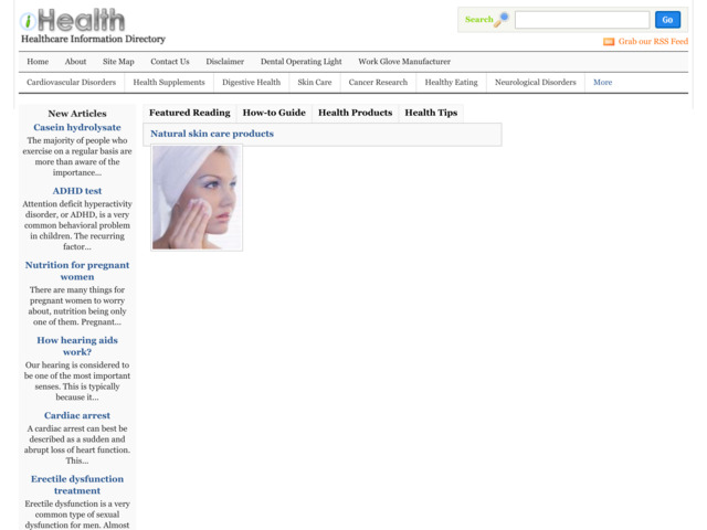 ihealthdirectory.com preview image