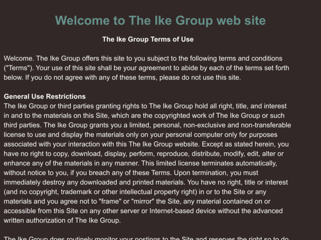 ikegroup.info preview image