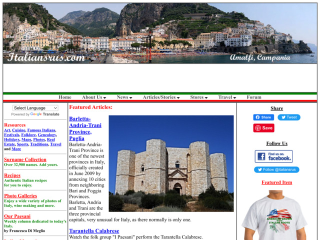 italiansrus.com preview image