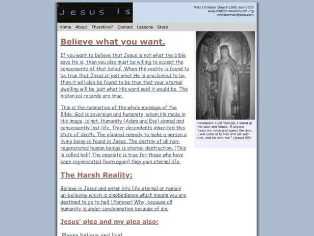 jesus-is.com preview image