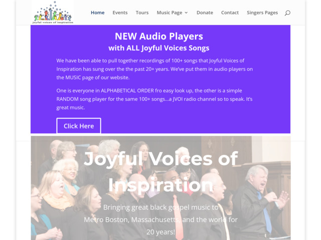 joyfulvoices.org preview image