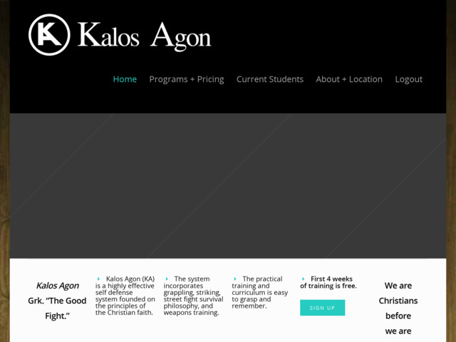 kalosagon.com preview image