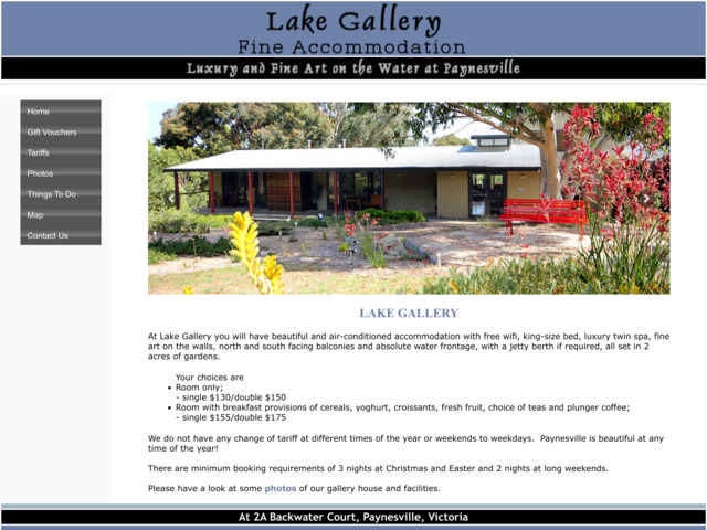 lakegallerybedandbreakfast.com preview image