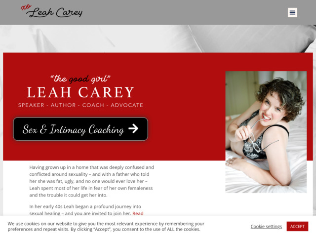 leahcarey.com preview image
