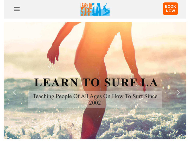 learntosurfla.com preview image