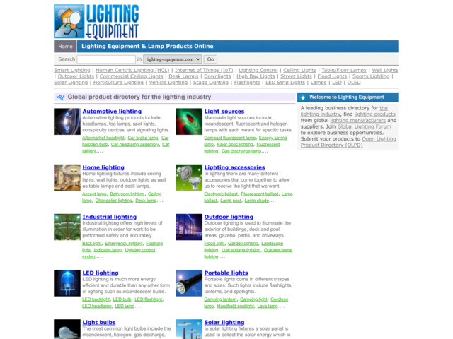 lighting-equipment.com preview image