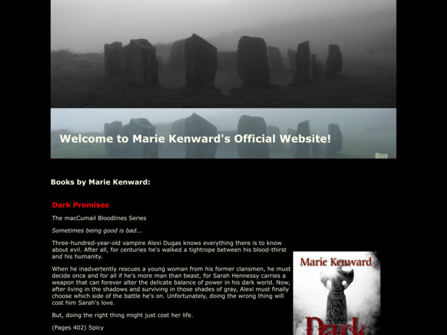 mariekenward.com preview image