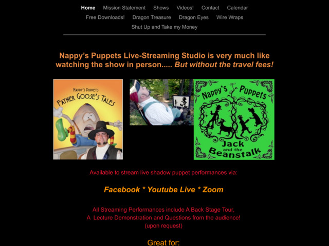 nappyspuppets.com preview image