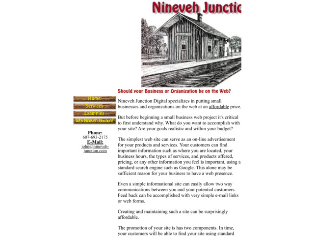 nineveh-junction.com preview image