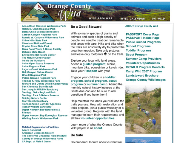 orangecountywild.com preview image