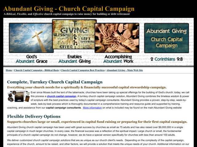 ourcapitalcampaign.com preview image