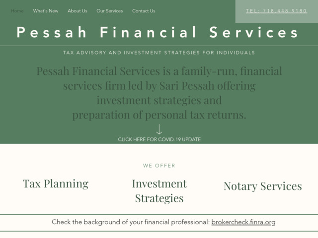 pessahconsulting.com preview image