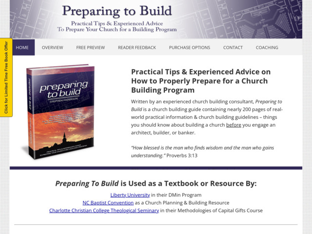 preparingtobuild.com preview image