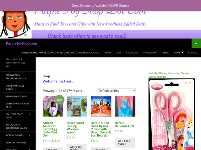 purpletoyshop.com preview image