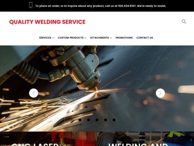 qualityweldingservice.com preview image