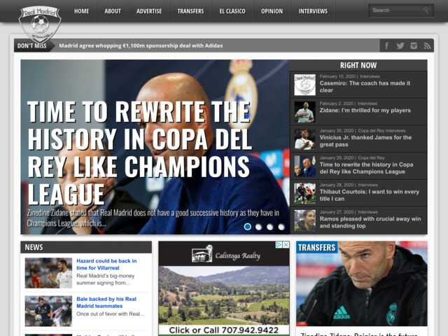 realmadridfcnews.com preview image