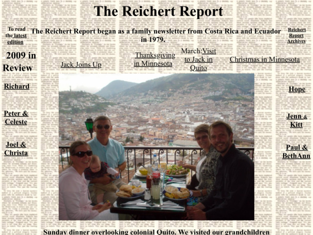 reichertreport.com preview image